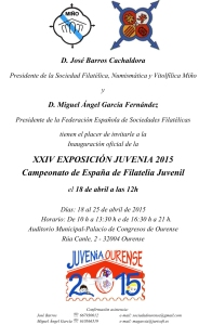 Invitación-Carta JUVENIA 2015