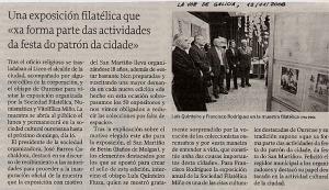 La Voz de Galicia, 12/11!2008