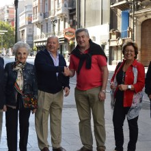 Con los colegas asturianos...