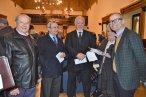 Con el Vicepresidente de la Diputación y el Alcalde