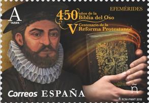 Sello 450 años Biblia del Oso